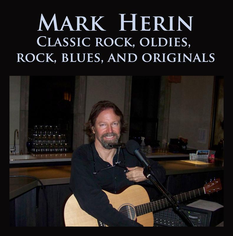 Mark Herin Solo Acousticelectric Folk Rock Classic Rock